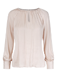 Satin round neck blouse