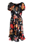 Lurex flower dress